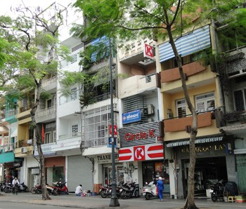Shop for rent Tan Binh district