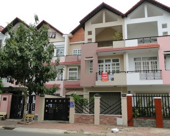 Villas for rent Binh Chanh district