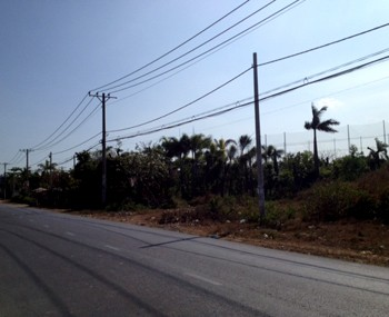 Lands for sale Binh Tan district