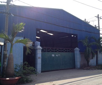 Warehouse for rent Binh chanh district
