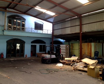 Rental warehouse Binh chanh district