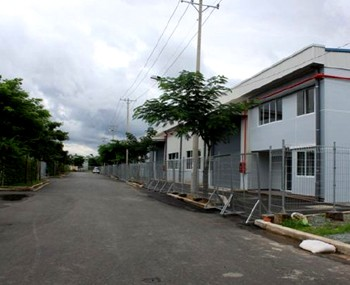 Rental factory Can Gio district