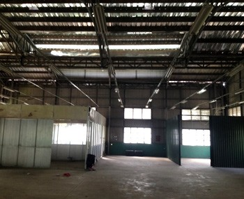 Rental warehouse Tan Phu district