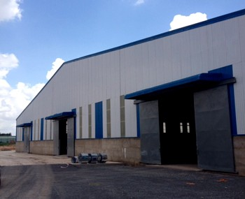 Warehouses for lease Can Gio