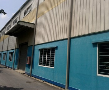 Garment warehouse for rent Binh Duong province