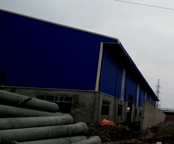 Factory for rent under construction