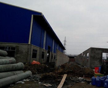 Factories for rent under construction