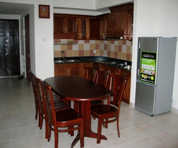 Apartment for rent Phuc Yen building